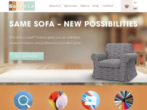 Soferia - pretty and durable covers